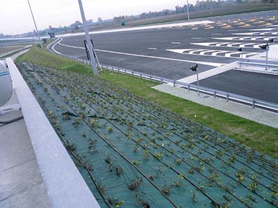 Tetto e barriera verde Autovie Venete s.p.a.
