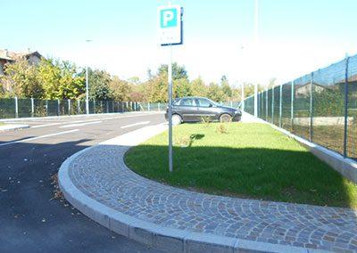 Aiuole parcheggio Campoformido (UD)